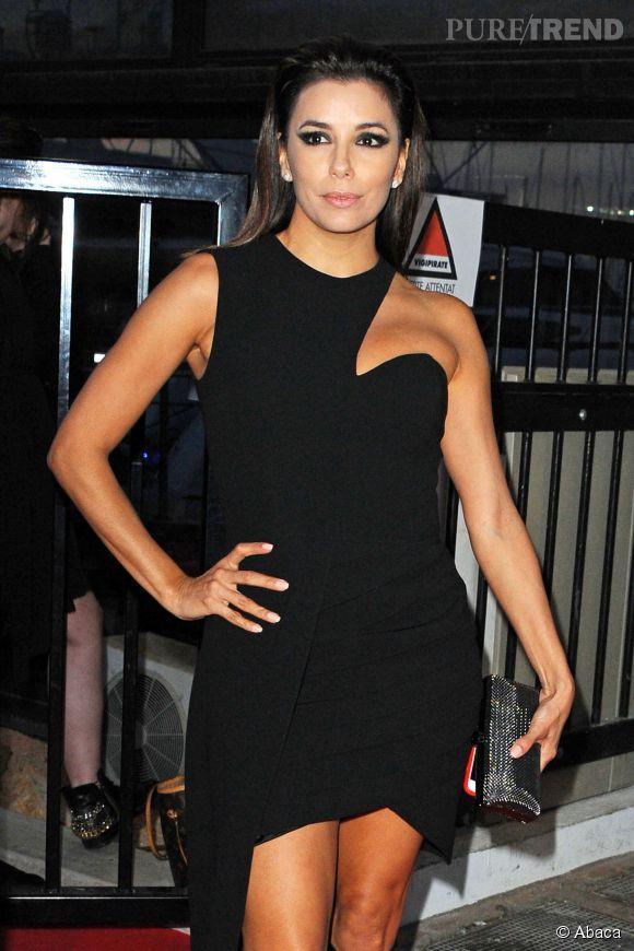 Eva Longoria fait également chaque année un tour sur le plateau du Grand Journal de  Canal +.