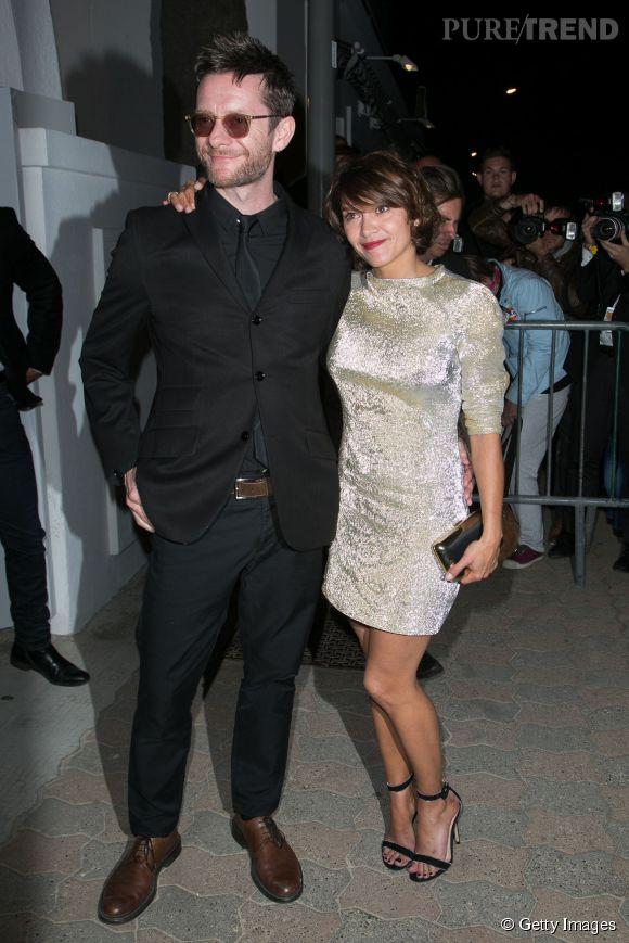Emma de Caunes et son mari Jamie Hewlett au dîner Chanel, ce mercredi 20 mai 2015.