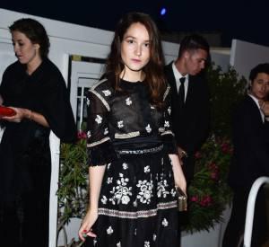 Anaïs Demoustier au dîner Chanel, ce mercredi 20 mai 2015.