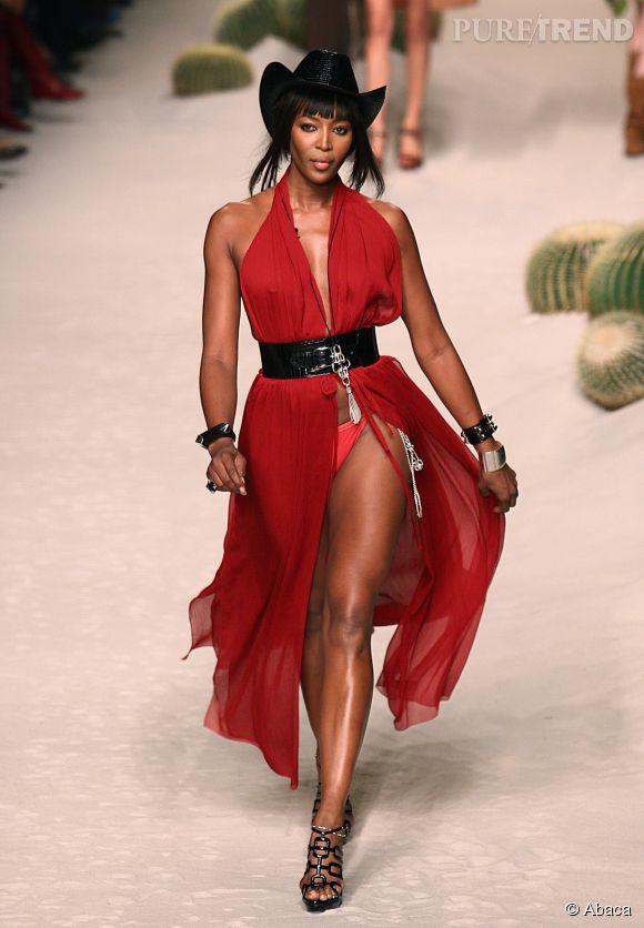 Cowgirl sexy pour Jean Paul Gaultier en 2008.