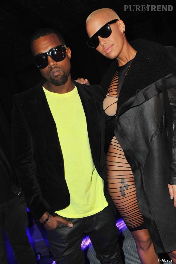 Kanye West et Amber Rose sont sortis ensemble en 2010.