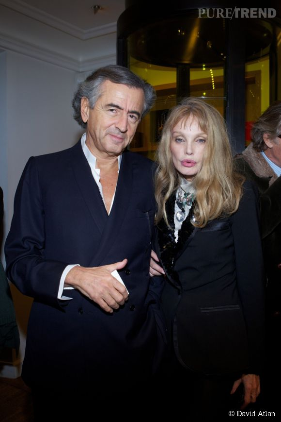 Bernard-Henri Levy et Arielle Dombasle, couple inspérable depuis plus de vingt ans.