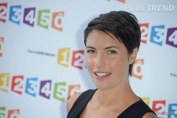 """Alessandra Sublet n'animera plus l'émission """"Un soir à la tour Eiffel""""."""