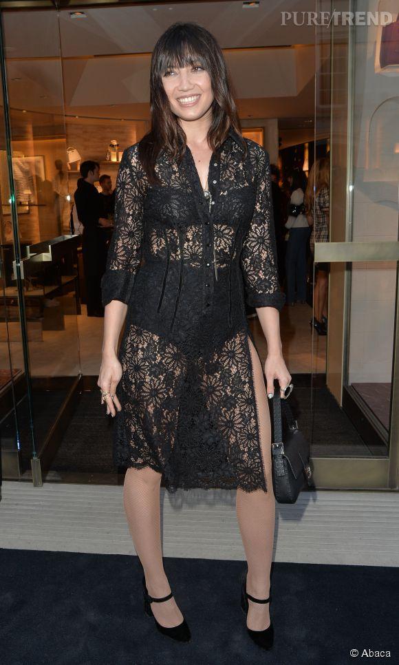 Daisy Lowe enflamme Londres avec ses tenues sexy les 3 et 4 juin 2015.