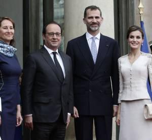 Lors de la dernière visite officielle du couple royal espagnol, Ségolène Royal était d'ailleurs en très bonne position sur les photos...