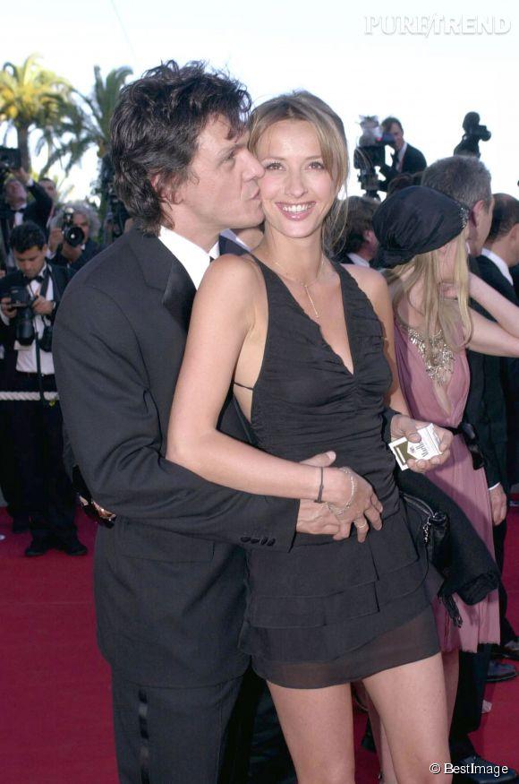 Sarah et Marc Lavoine, très amoureux au Festival de Cannes, en 2003.