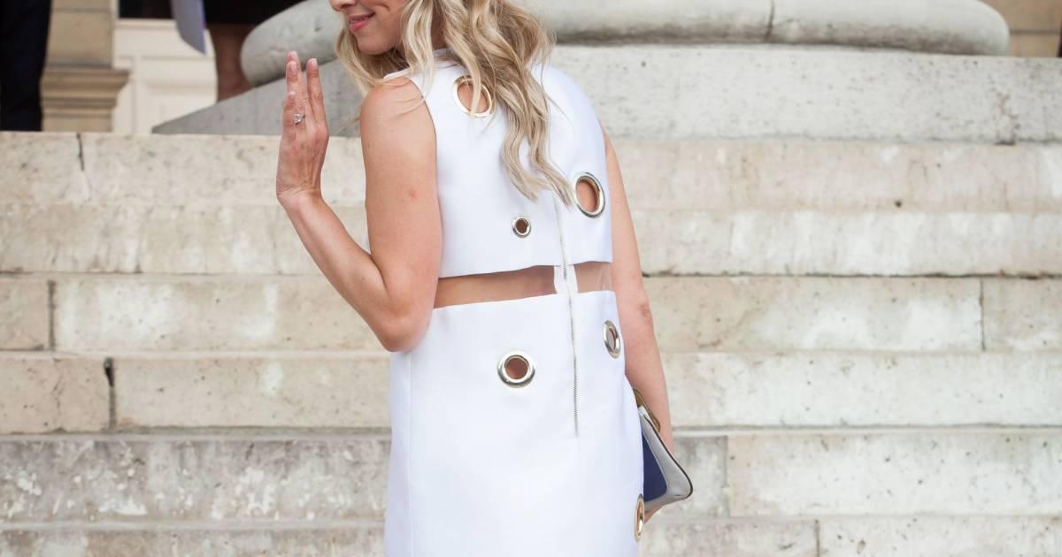 Nicky hilton les fesses l 39 air paris puretrend for Robes blanches simples pour le mariage de palais de justice