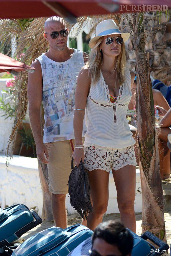 Bar Refaeli et Adi Ezra se sont fiancés en mars dernier.