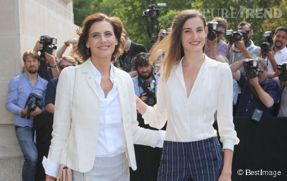 Inès de la Fressange et sa fille Nine d'Urso : glamour et élégance à la parisienne.