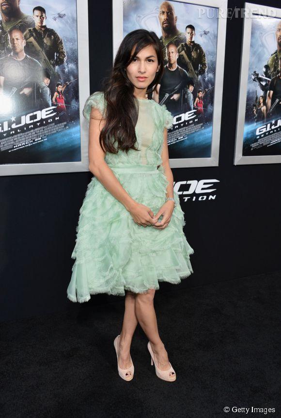 """Élodie Yung, lors de l'avant-première de """"G.I. Joe"""", à Los Angeles, en mars 2013."""