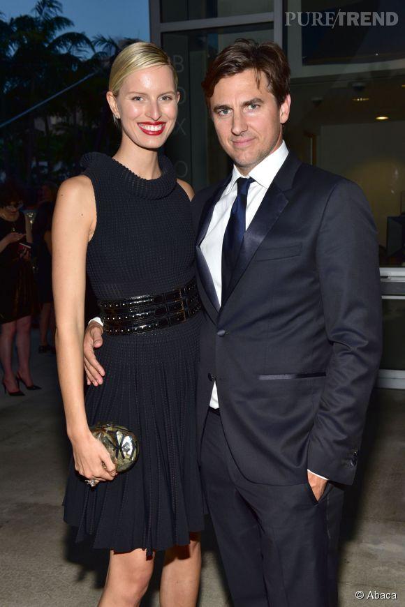 Karolina Kurkova et Archie Drury, mariés depuis 6 ans.
