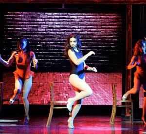 """Priscilla Betti a été la tête d'affiche de la comédie musicale """"Flashdance""""."""