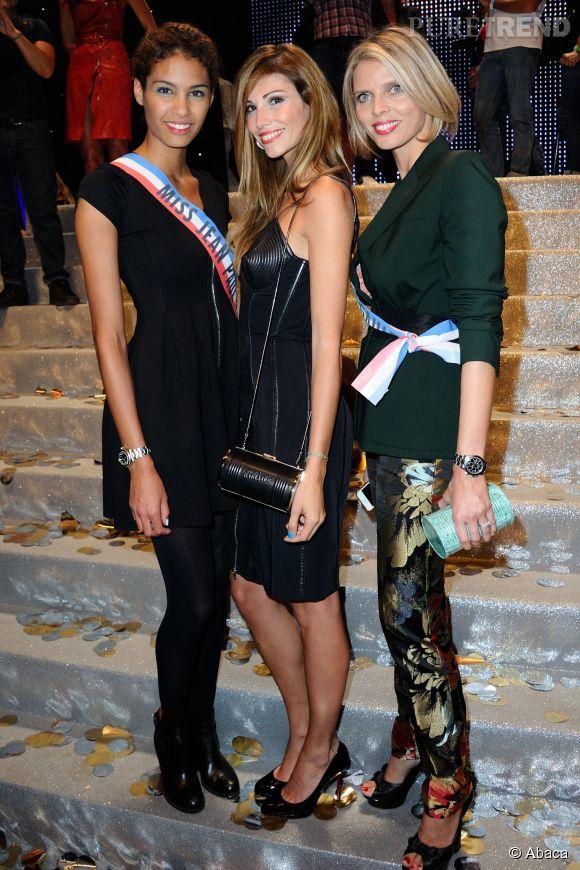 Chloé Mortaud, Alexandra Rosenfeld et Sylvie Tellier réunies.