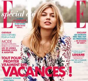 """Louane Emera, star de """"La Famille Bélier"""", fait la couverture de ELLE."""