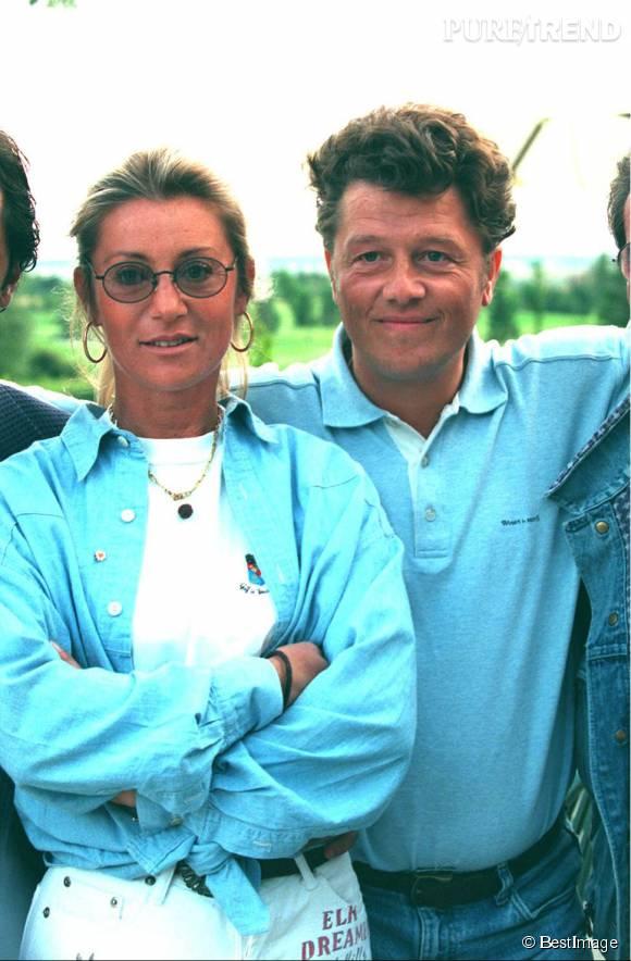 Sheila et son second mari, le compositeur Yves Martin, qu'elle a épousé en 2006.