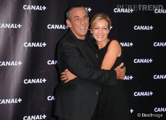 Thierry Ardisson et Audrey Crespo-Mara, un couple qui ne se lâche plus.