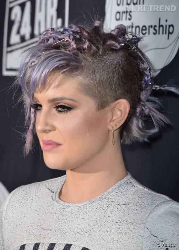 Kelly Osbourne est obsédée par la couleur violette.