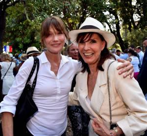 Carla Bruni et Denise Fabre : Nicolas Sarkozy et ses groupies, la rencontre