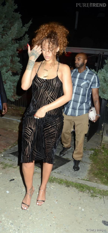 Rihanna dans les rues de New York le 19 juillet 2015.