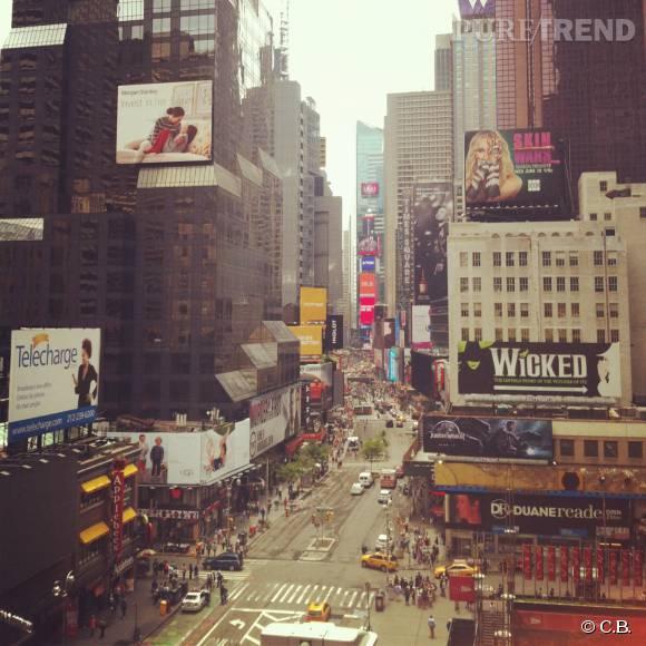 Times Square, le coeur touristique de New York.