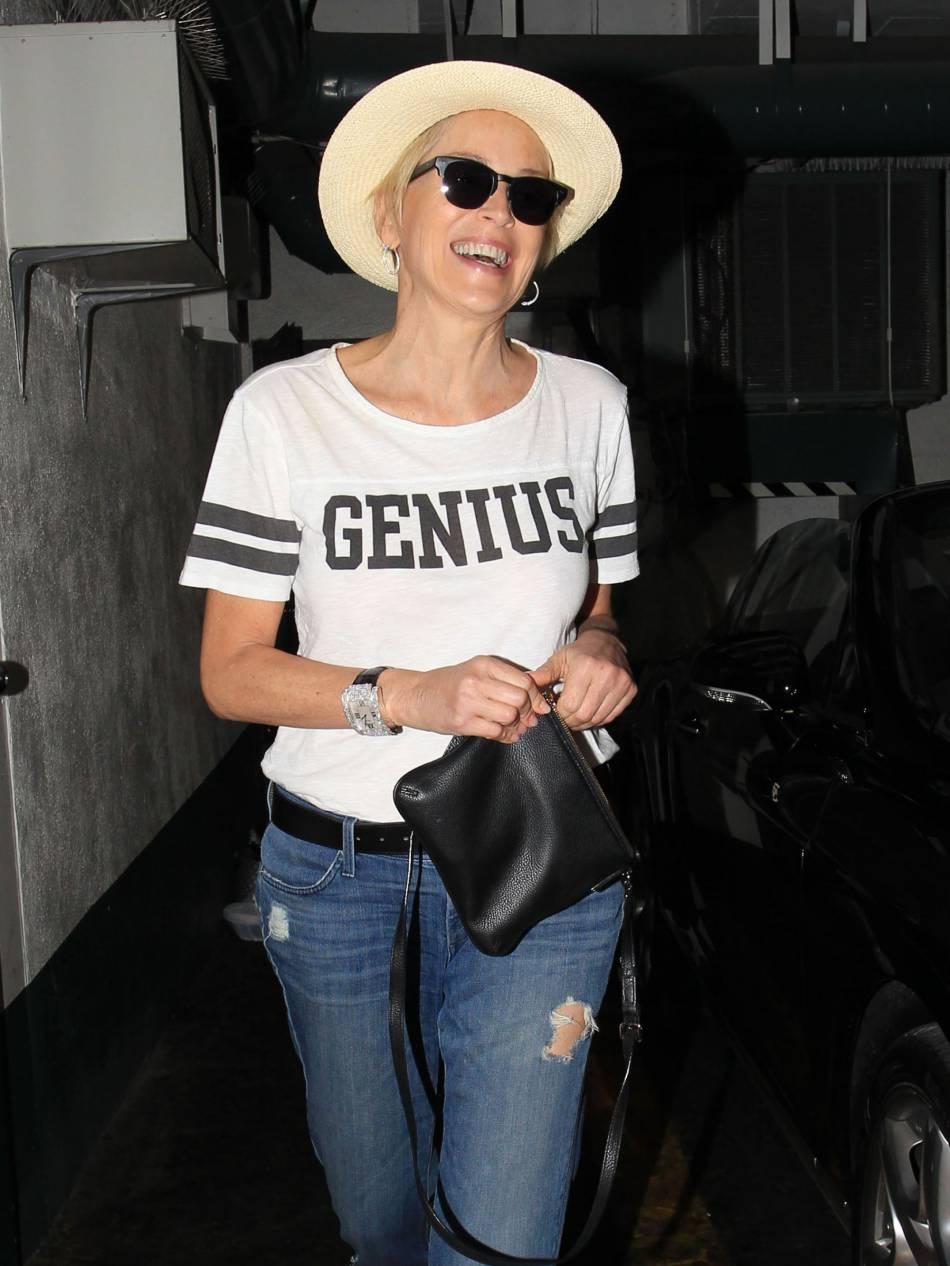 Sharon Stone ne fait décidément pas son âge.