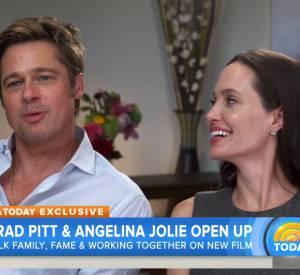Interview d'Angelina Jolie et Brad Pitt sur la chaîne Today, ce lundi 2 novembre 2015.