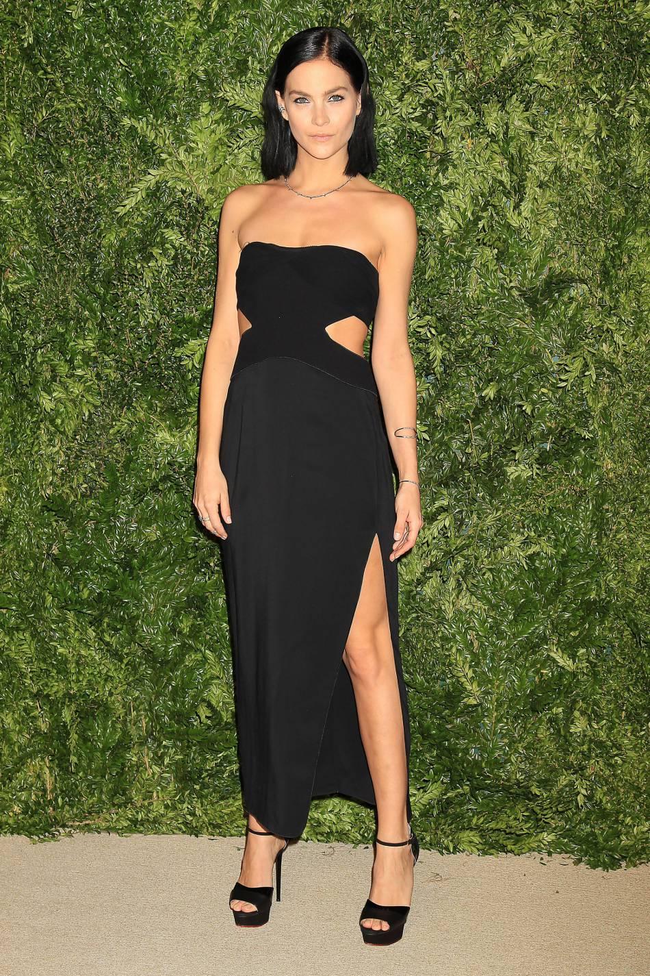 Leigh Lezark à la soirée CFDA/Vogue Fashion Fund Awards de ce lundi 2 novembre 2015.