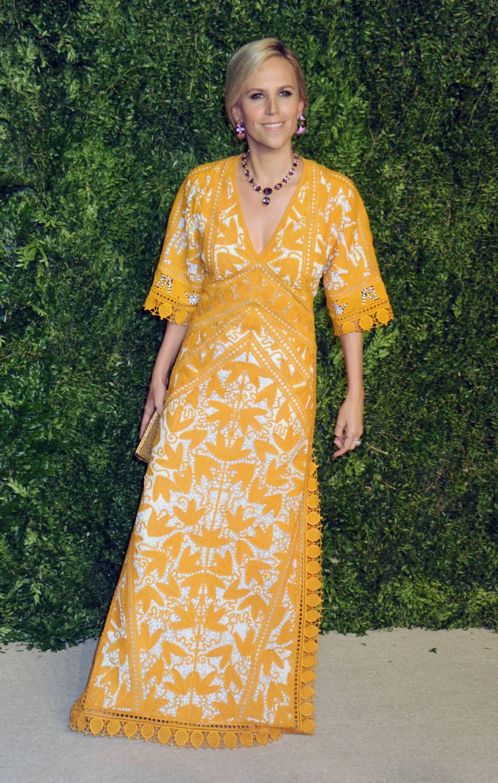 Tory Burch à la soirée CFDA/Vogue Fashion Fund Awards de ce lundi 2 novembre 2015.