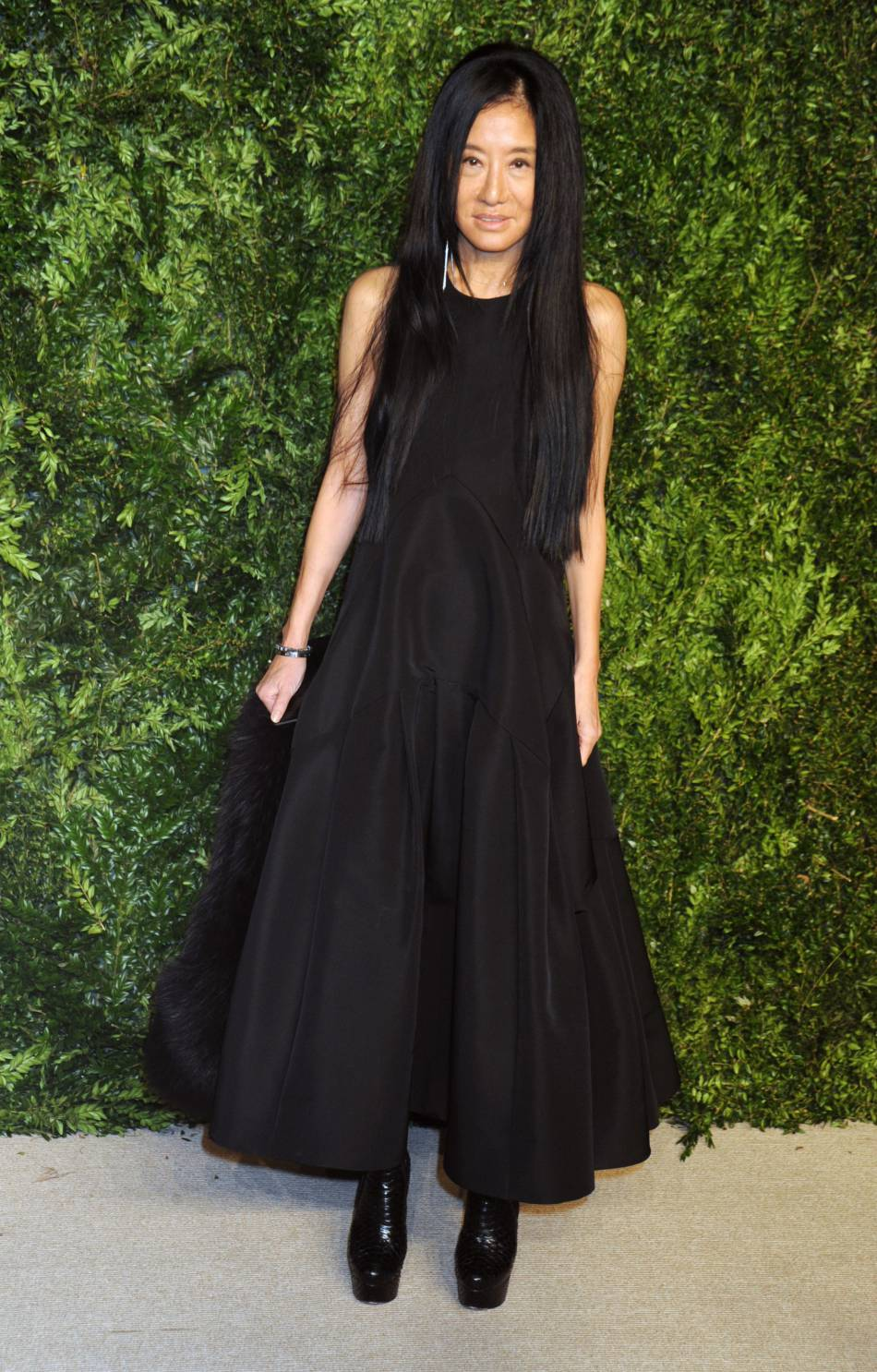 Vera Wang à la soirée CFDA/Vogue Fashion Fund Awards de ce lundi 2 novembre 2015.
