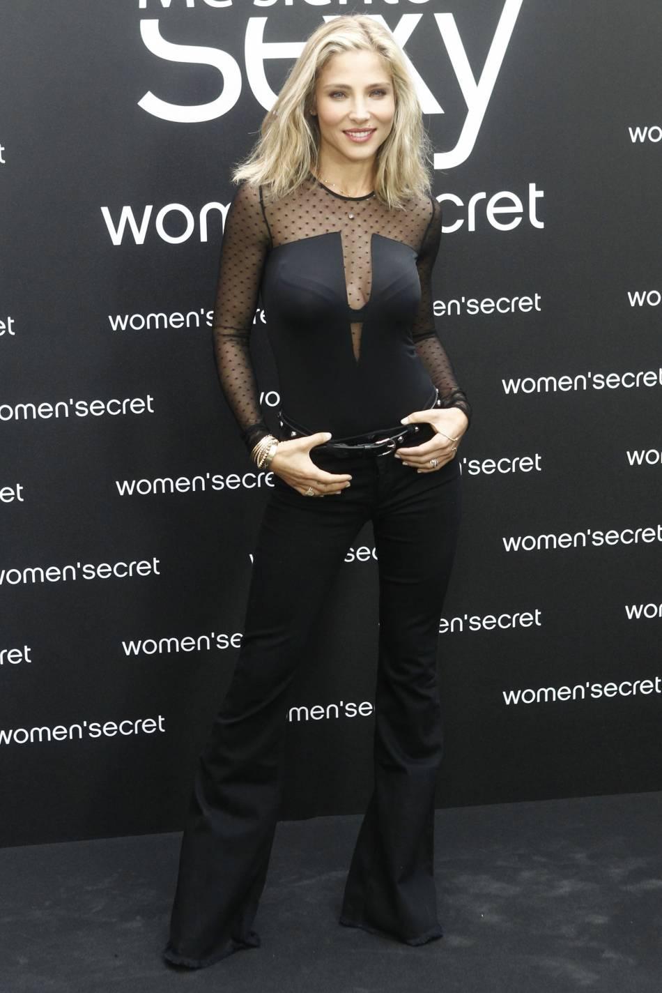 Elsa Pataky a présenté la nouvelle campagne Women's Secret il y a quelques semaines à Madrid.