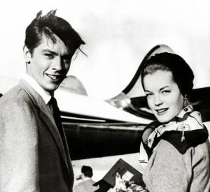 Alain Delon et Romy Schneider sont restés ensemble cinq ans.