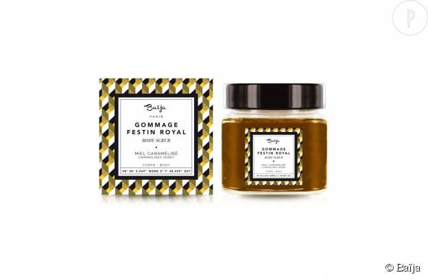 Gommage pour le corps miel caramélisé Festin Royal by Baïja, 11,90€.