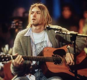 """Kurt Cobain : le gilet de """"MTV Unplugged"""" et une mèche de cheveux aux enchères !"""