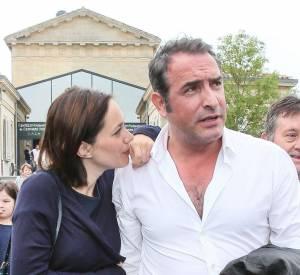 Nathalie Péchalat et Jean Dujardin, un couple très discret.