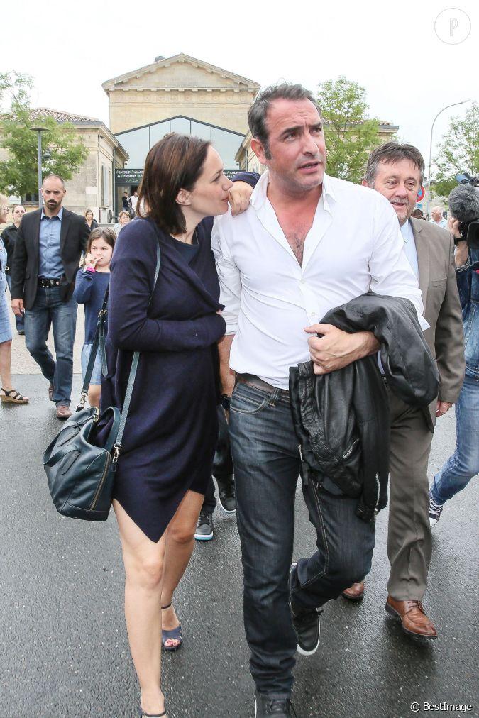 Nathalie p chalat et jean dujardin un couple tr s discret for Pechalat dujardin
