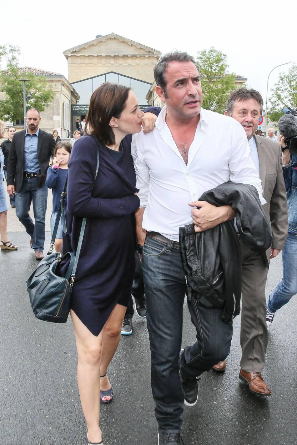 Nathalie p chalat et jean dujardin un couple tr s discret for Jean dujardin en couple