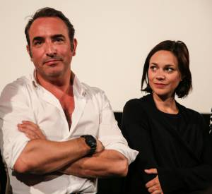 Nathalie Péchalat évoque très rarement Jean Dujardin en interview.