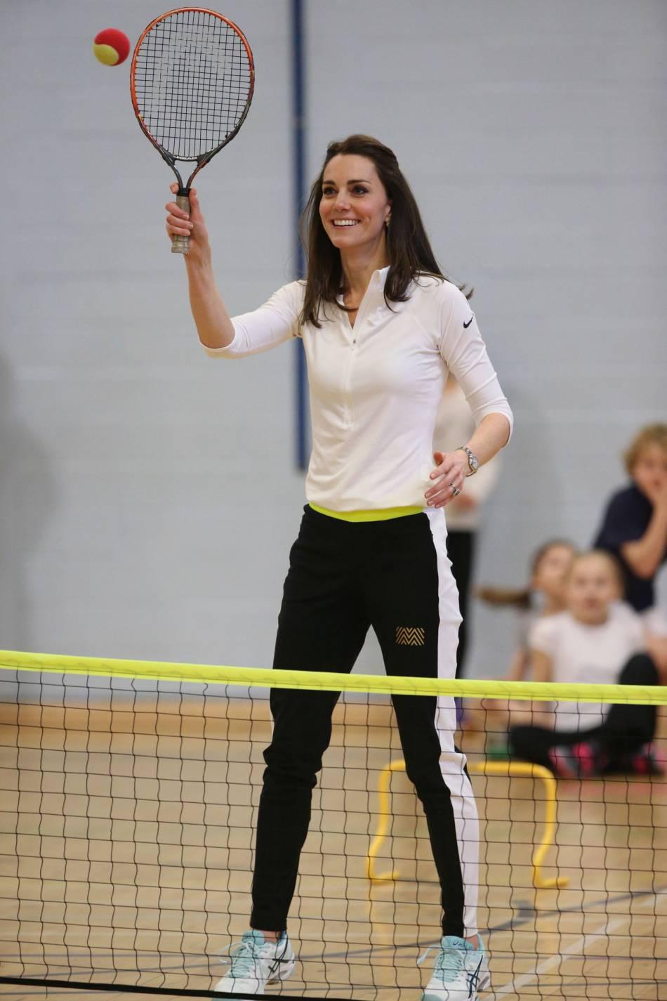Kate, la tête couronnée la plus sportive.