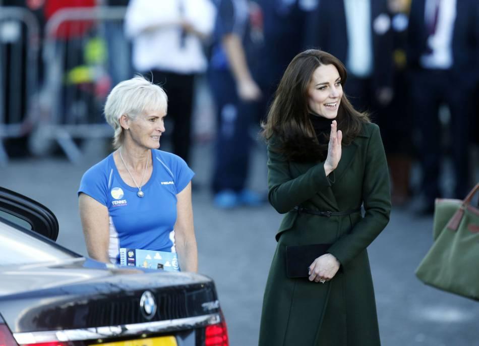 Kate a également rencontré Judy Murray.