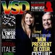 Valérie Trierweiler en une du dernier numéro du magazine  VSD .
