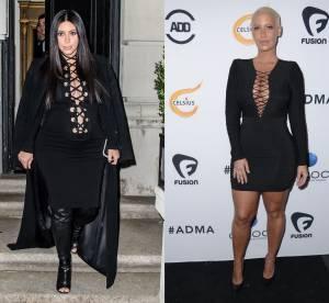 Kim Kardashian vs Amber Rose : le laçage sensuel prêt à craquer