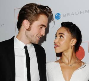 Robert Pattinson et sa compagne FKA twigs en novembre 2015.