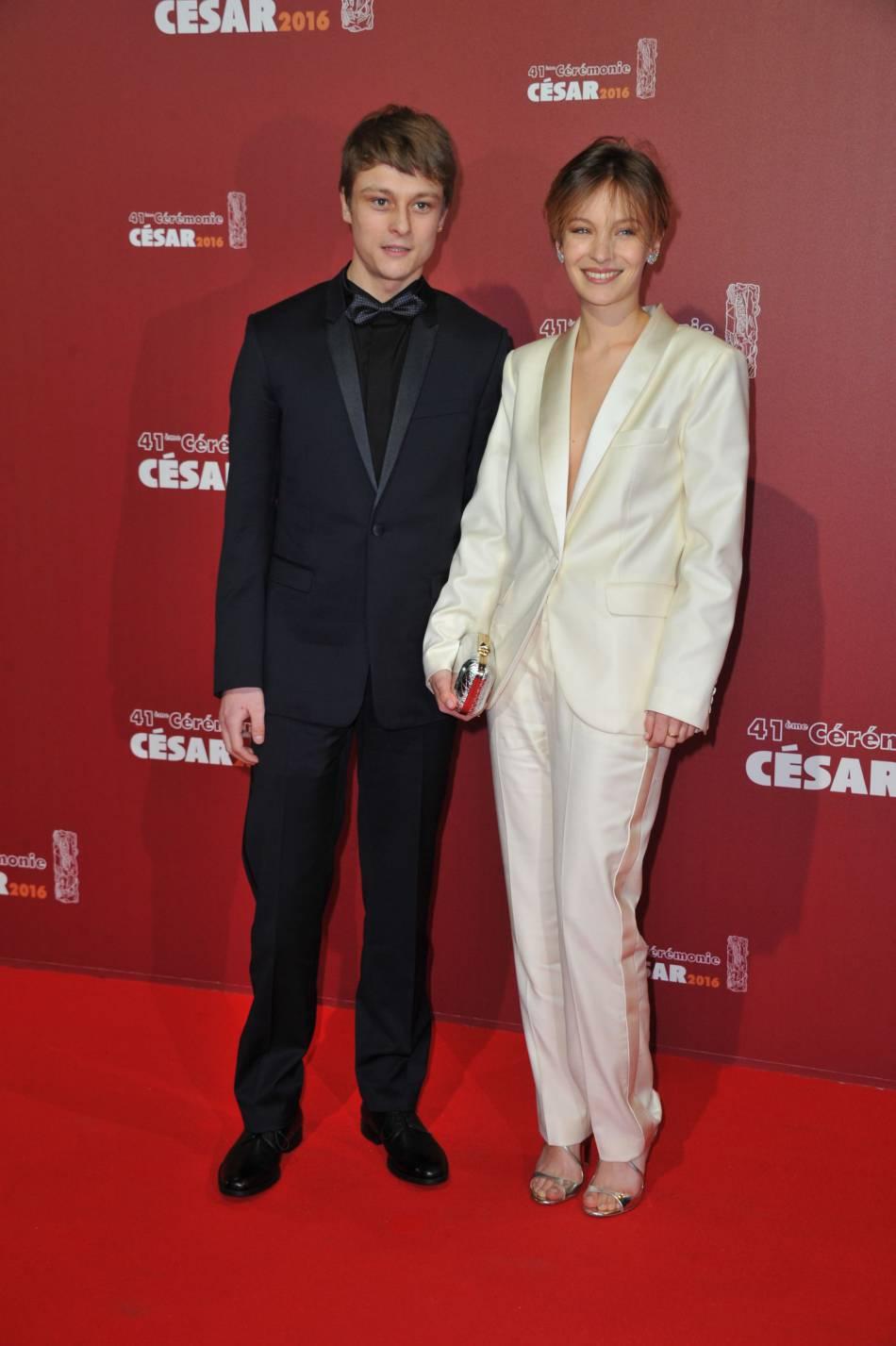 La cérémonie des César 2016 : Rod Paradot et Diane Rouxel