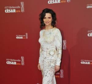 La cérémonie des César 2016 : Juliette Binoche