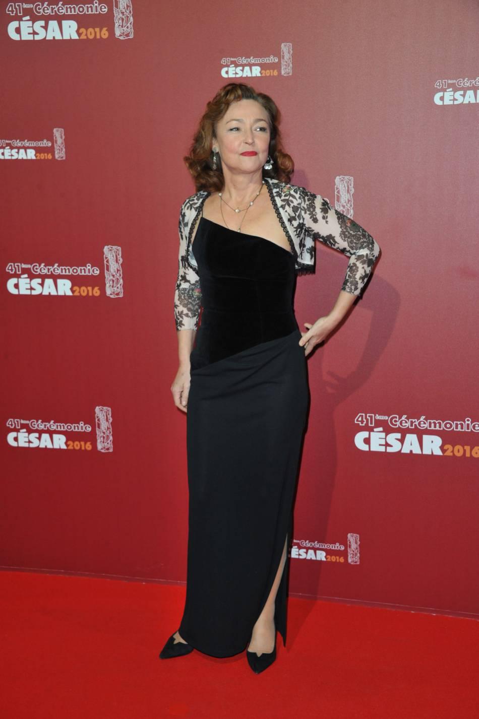 La cérémonie des César 2016 : Catherine Frot