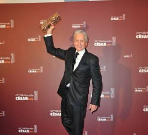 La cérémonie des César 2016 : Michael Douglas