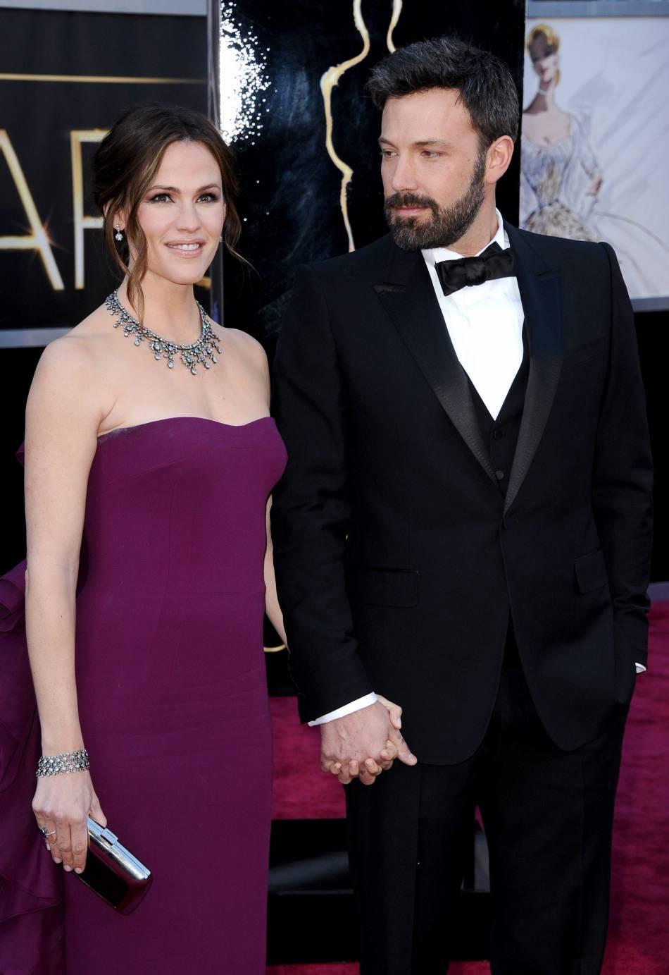 L'actrice  Jennifer Garner , et son ex-mari Ben Affleck