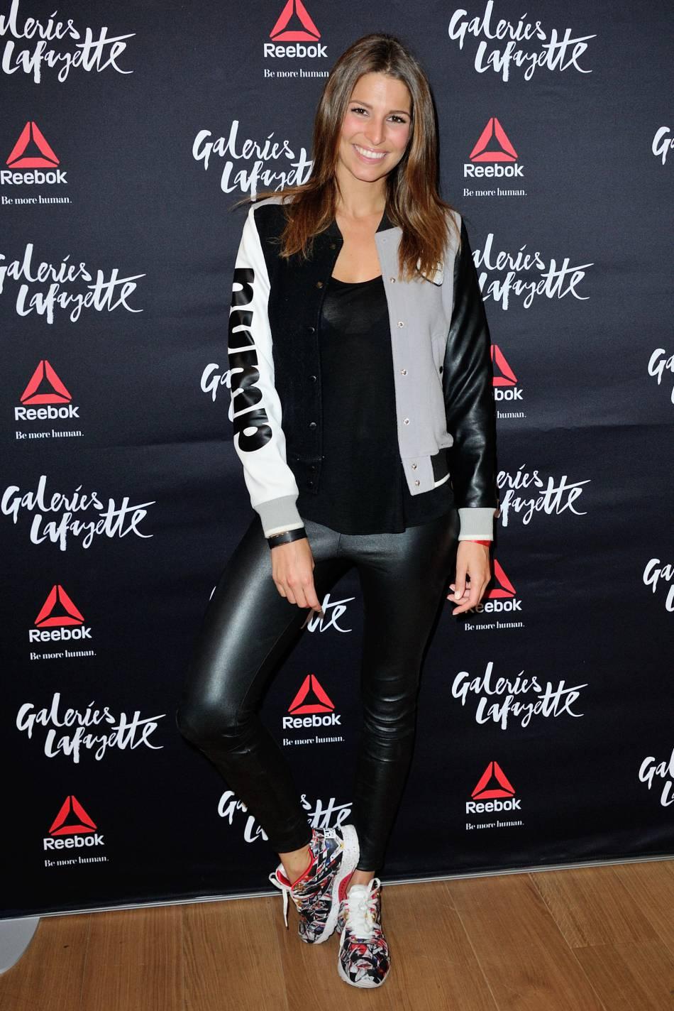 Laury Thilleman se transforme en sportive rétro et sexy pour  Gala .