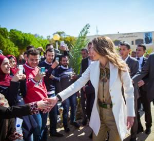 Rania de Jordanie, l'une des reines les plus élégantes de la planète.