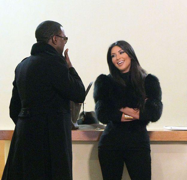 Kim Kardashian et Kanye West en 2010.